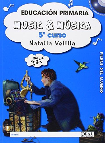 Music & Música Vol5Fichas del Alumno (Music and Música)