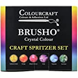 brusho Kristall Farben, highly pigmented watercolor ink powders