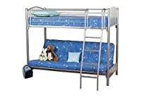 Sweet Dreams Garnet Futon Bunk Bed