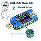 USB Spannungsprüfer Voltmeter Tester Multimeter UM25C Spannung Meter LCD Display USB-Digital-Multimeter-Tester Aktuell Ampere