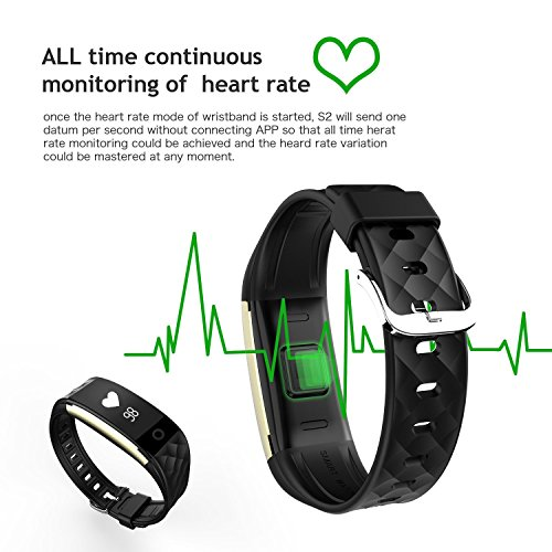 Wireless-Fitness-Tracker-Luxsure-Waterproof-Bluetooth-Tracker-Bracelet-to-Monitor-Heart-Rate-Pedometer-for-IPhone-7-7-Plus-6-Samsung-s8-and-Other-IOS-Android