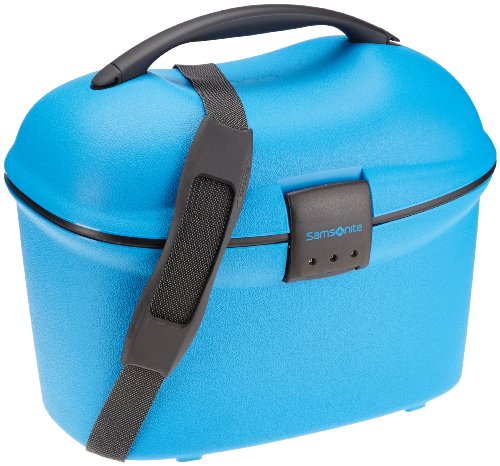 Samsonite Cabin Collection Beauty Case/Strap Kosmetikkoffer, 15 L, Electric Blue