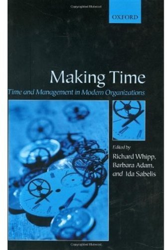 making time time and management in modern organizations english edition