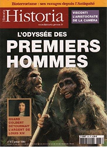 Historia presse n° 673 l'odyssée des premiers hommes