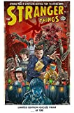 Giclee Art Prints 12' x 18' Wall Poster Stranger Things Comic Atlas Parody 07 - Limited Edition