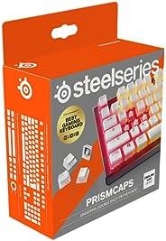SteelSeries PrismCaps, Copritasti in stile pudding a doppio scatto, Robusta termoplastica PBT, Compatibile con
