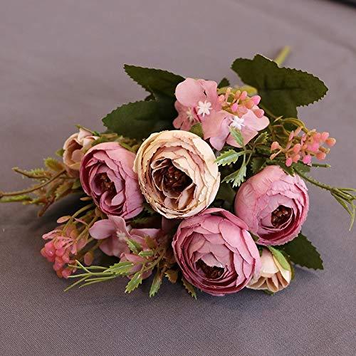 Blumen, Diamant Tee, Tee, Rose, Fabrik, Großhandel, dekorative Blume, Blume, Foto, Fotografie, Requisiten, gefälschte Blumen, lila Frühlingstee, einzeln ()