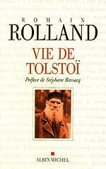 Vie de Tolstoï de Romain Rolland