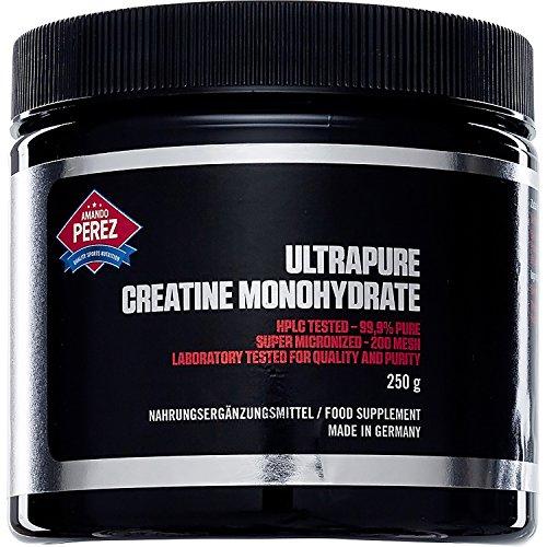 Kreatin Monohydrat - Creatine - pures und feines Pulver - 200 Mesh - 250 g