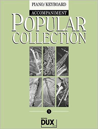 Preisvergleich Produktbild Popular Collection 1 Klavierbegleitung zur kompletten Bläserreihe Band 1