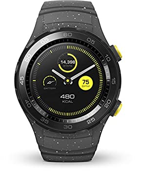 Huawei Watch 2 (Bluetooth) Smartwatch Mit Grauem Sportarmband (Nfc, Bluetooth, Wlan, Android Wear™ 2.0) Grau 2