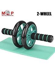 MCP Abs Carver Roller with Thick Knee Pad for Abdominal Wor