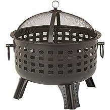 AmazonBasics Steel Lattice Fire Pit 60 cm (23.5 Inches)