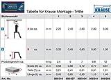 KRAUSE  lfa010Trittleiter, Plattform, 1Stufe, 0.2m Höhe