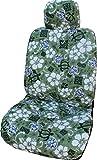 Made in Hawaii, Hawaii grün Aloha Hibiskus Separate Kopfstütze Auto Sitzbezüge von Winnie Fashion