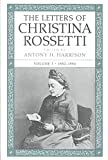 [(The Letters of Christina Rossetti: 1882-1886 v. 3 )] [Author: Christina Rossetti] [Sep-2000]