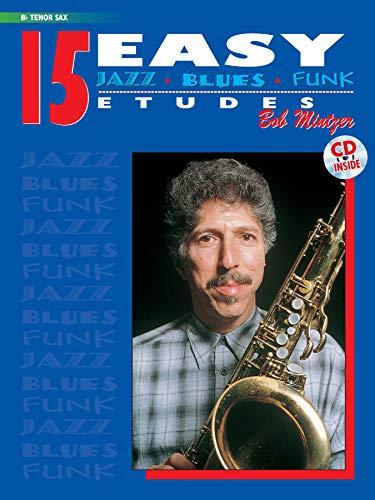 15 Easy Jazz, Blues & Funk Etude...