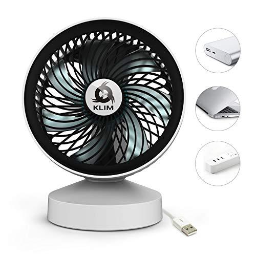 KLIM Breeze - Ventilador USB de Escritorio de Alto Desempeño – Ventilador...