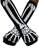 A - Z - Gant - Femme blanc blanc Glove Length: 34cm/13.39 inch