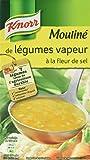 Knorr Soupe Mouliné de Légumes Vapeur à la Fleur de Sel 1 L