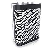 Brandson - Heizlüfter | zwei Leistungsstufen | stufenlose Temperaturregelung | 1500 Watt | Ventilationsfunktion, energiesparend | Überhitzungsschutz, Umkippschutz | Heizung Heater | GS-zertifiziert