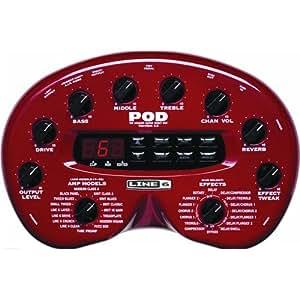 Line6 POD 2.0 Amp Modeler Guitar Effect Pedal