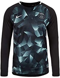 Nike 2017-2018 PSG LS Pre-Match Training Football Soccer T-Shirt Maillot 71727adcb5d