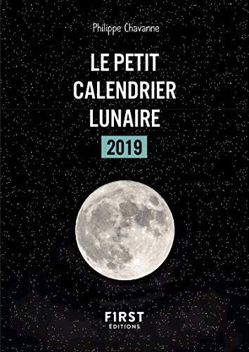 Petit livre - Calendrier lunaire 2019