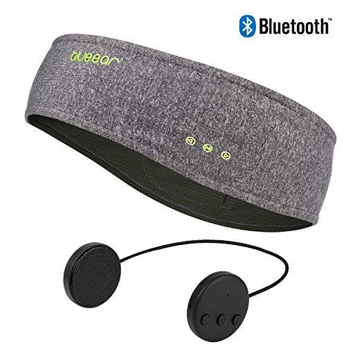 Bluetooth Musik Sport Stirnband Headband mit drahtlosem Kopfhörer 8 Stunden Musikspieler mit Einer Call-Funktion Geeignet für Outdoor-Sportarten -