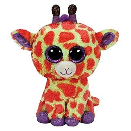 "Beanie Boo Giraffe - Darci - Yellow - 15cm 6"""