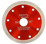 PRODIAMANT Disco diamantato Premium per piastrelle / gres porcellanato 115 mm x 22,23 mm Disco diamantato PDX93.936 Disco per piastrelle 115 mm