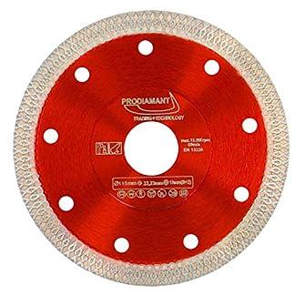 PRODIAMANT Disco de corte de diamante premium Azulejo / Gres porcelánico 115 mm x 22.23 mm Disco de corte de diamante PDX93.936 115mm
