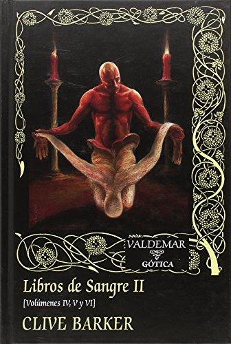 Descargar LIBROS DE SANGRE II (VOL  IV  V  VI)