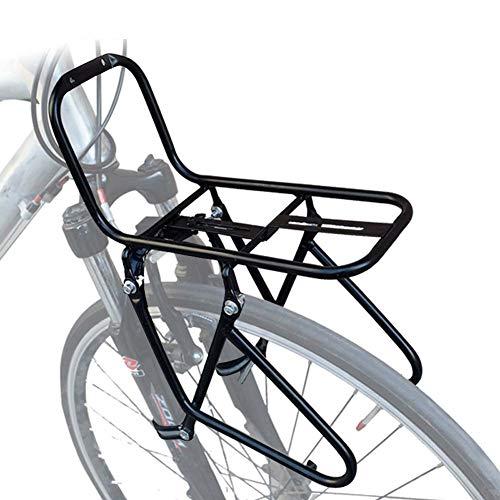 JXS-outdoor Rack-Front Pannier - Mountainbikes - Stahl Material ist Nicht leicht zu Rust - Kann Carry 15KG -