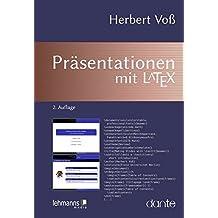 Präsentationen mit LaTeX