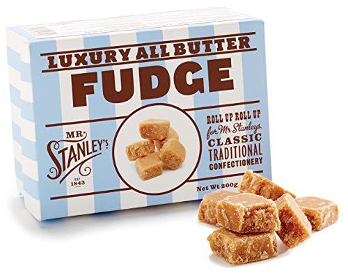 Mr. Stanley's Butter Fudge Geschenkbox, 2er Pack (2 x 200 g) (Candy Englisch Caramel)
