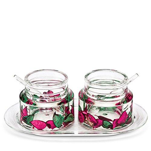 Freelance Eden Acrylic Kitchen & Dining, Condiment Jam Jar Set...