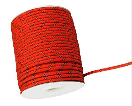 Relags Corde 10 M Environ 2 mm Noir elastikseil Tente Corde Corde