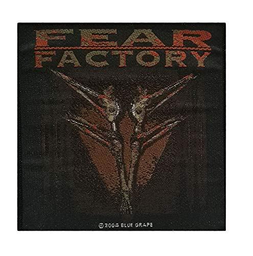 Rock Off Fear Factory Merchandising Ufficiale Demanufacture Toppa