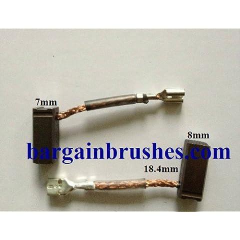 Spazzole al carbonio Bosch Trapano Martello perforatore GBH 36V, 7x 8x 18.4- (36v Drill)