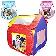 Le tende per palline di MONSIEUR BÉBÉ incanteranno i bambini. Per la grande gioia dei bimbi, una confezione di 200 palline inclusa. Ogni tenda potrà essere utilizzata con o senza palline, come semplice fortino o come piscina per le palline. M...