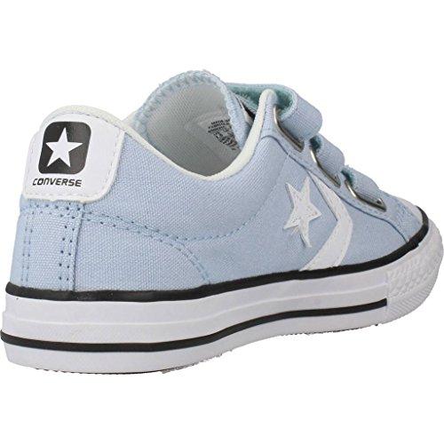 Calzature sportive bambino, colore Blu , marca CONVERSE, modello Calzature Sportive Bambino CONVERSE CHUCK TAYLOR STAR PLAYER 3V OX Blu Blu