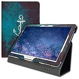 kwmobile Huawei MediaPad M5 Lite 10 Hülle - Tablet Cover Case Schutzhülle für Huawei MediaPad M5 Lite 10 mit Ständer