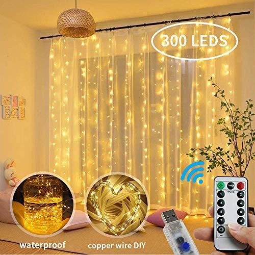 Luz Cadena Luz de Cortina USB