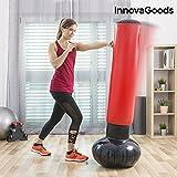 InnovaGoods IG116264 Saco de Boxeo de Pie Hinchable, Unisex Adulto, Rojo, Talla Única