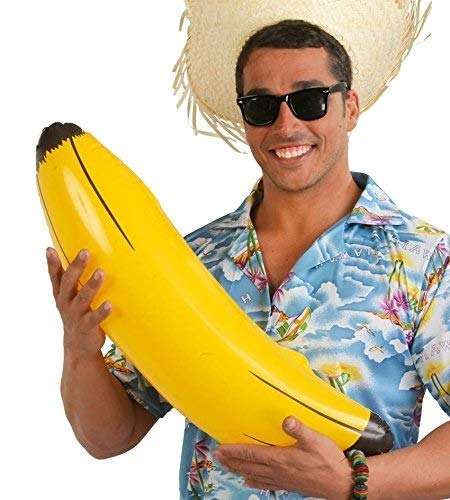 Guirca Fiestas GUI18402 - aufblasbare Banane, 70 cm