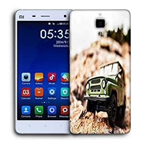 Snoogg 74 offroad car Designer Protective Back Case Cover For Xiaomi Mi 4