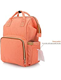 Hannea All In One Practical Baby Diaper Bag With Separate Pocket