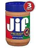 Jif Erdnusbutter - Extra Crunchy - 3er Pack (3x454g)