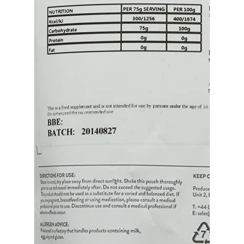 51DYiMXuBtL. SS500  - Bulk Pure Vitargo S2 Carbohydrate Powder, 500 g, Packaging May Vary